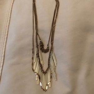 Top shop layered necklace